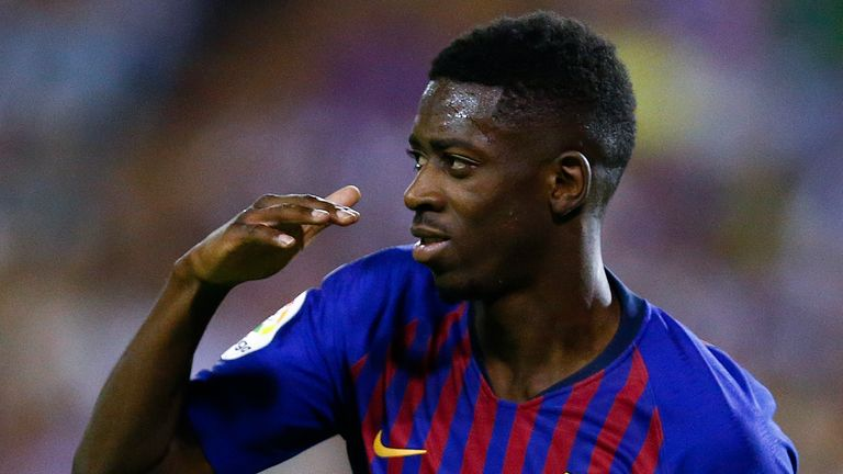 Arsenal have reportedly enquired about Ousmane Dembele