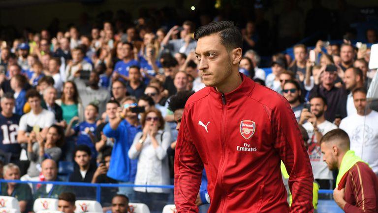 Arsenal's Mesut Ozil has quit international football