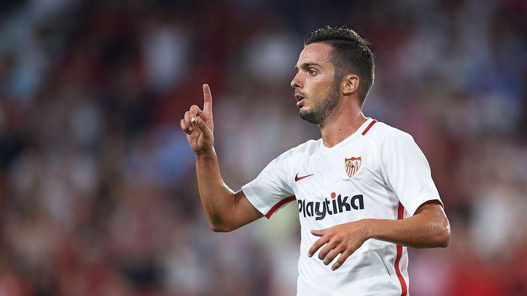 Pablo Sarabia scored Sevilla's only goal