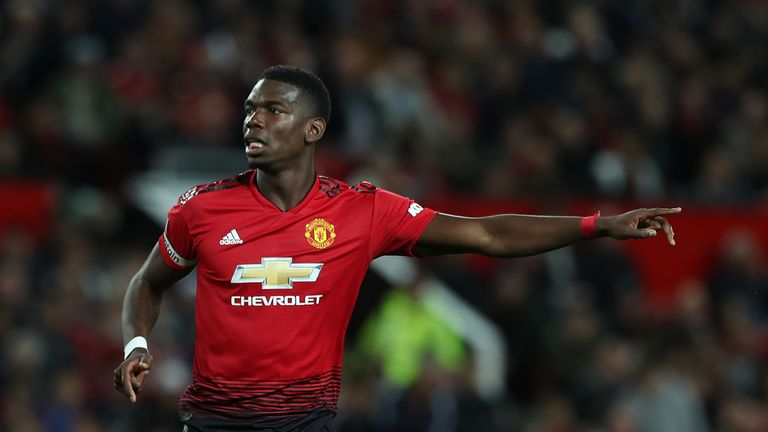 Paul Pogba is Le Tiss' top choice in midfield
