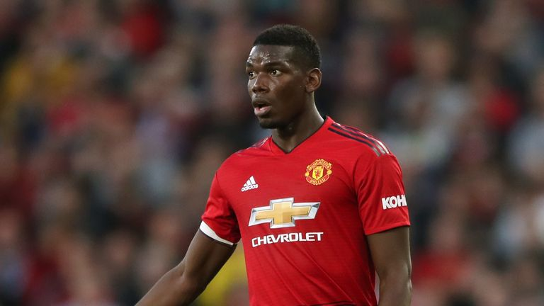 Paul Scholes was critical of Paul Pogba's performance against Brighton