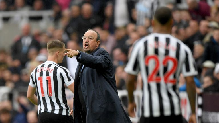 Rafael Benitez says Newcastle are fighting to avoid relegation