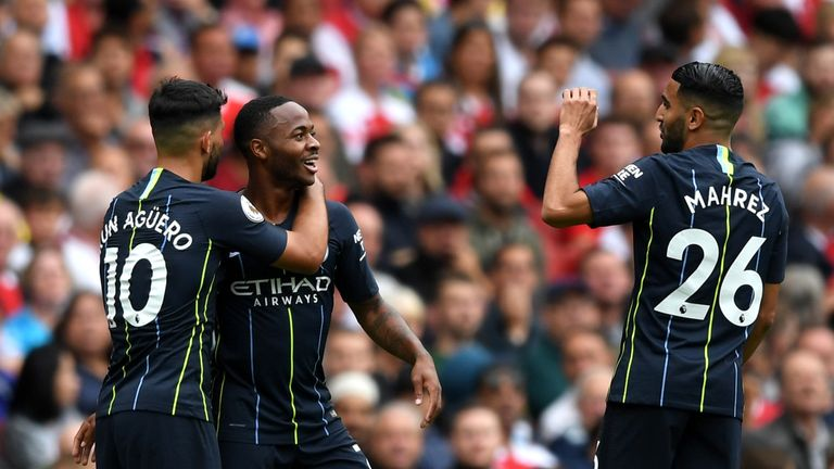 Raheem Sterling continued where he left off with the opening goal