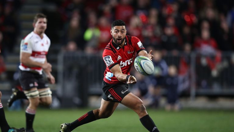 Richie Mo'unga was a key figure in the Crusaders run to the title last year