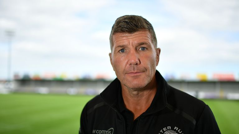 Exeter Chiefs head coach Rob Baxter expects a tough test in the European Champions Cup