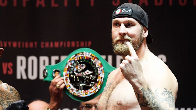 Robert 'The Nordic Nightmare' Helenius wants a fight with Wallin