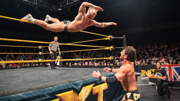 Tyler Bate is one of the brightest prospects in wrestling