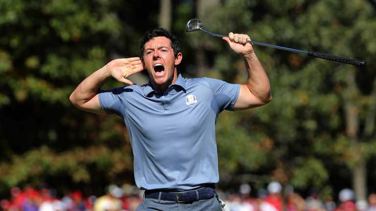 McIlroy will represent Team Europe for a fifth time