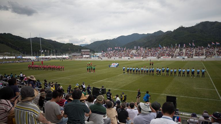 Kamaishi Recovery Memorial Stadium will host two World Cup matches in 2019