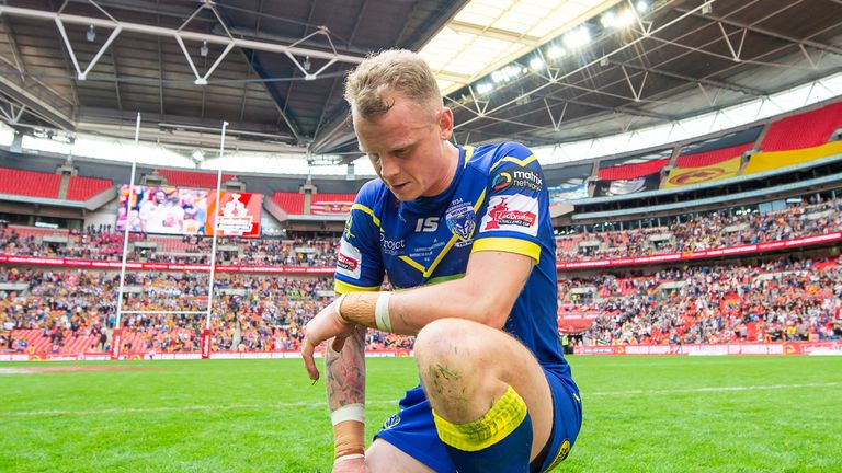 In addition to their Grand Final loss, Warrington also suffered Challenge Cup final defeat