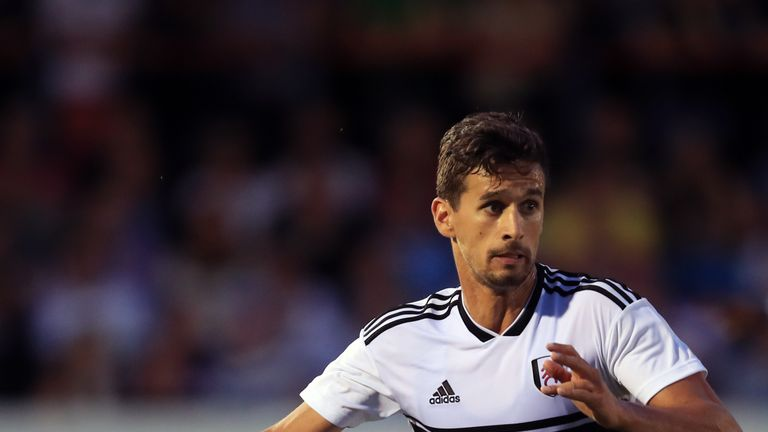 Rui Fonte signed for Fulham from Braga in 2017