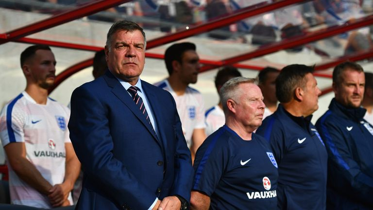 Sam Allardyce is interested in the Ireland job, Sky Sports News understands