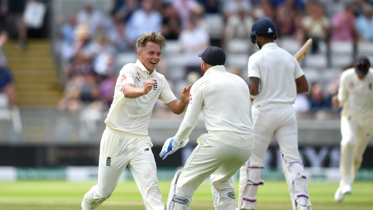 Sam Curran can build on his fantastic start in Test cricket, says Michael Atherton
