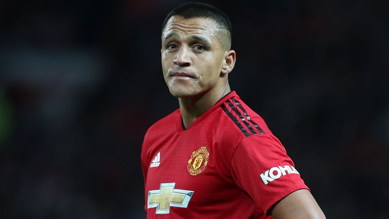 Alexis Sanchez was left out of United's squad to face West Ham