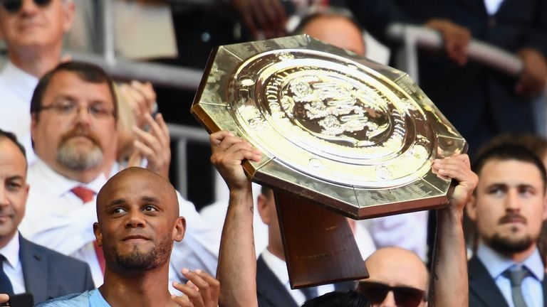 Manchester City won the Community Shield last season