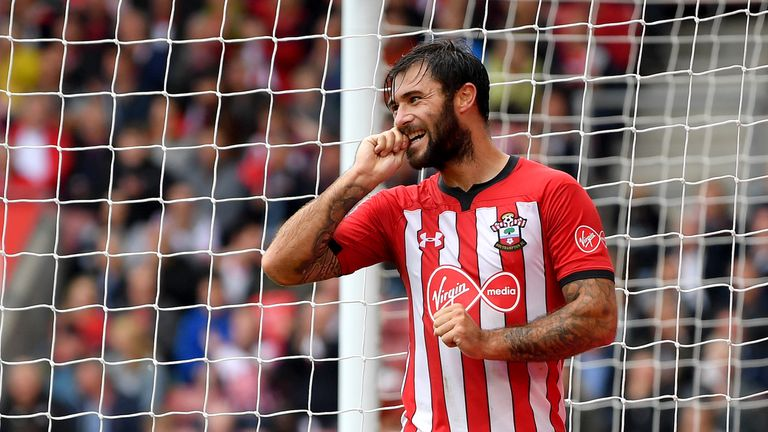 Charlie Austin is a slight fitness concern for Mark Hughes going into Monday's tie against Brighton