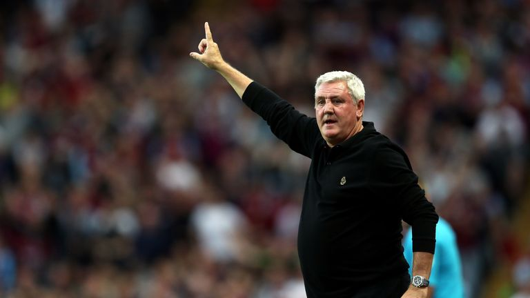 Steve Bruce has come under increasing pressure due to the dip in form
