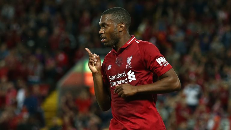Daniel Sturridge scored six goals for Liverpool during the pre-season schedule