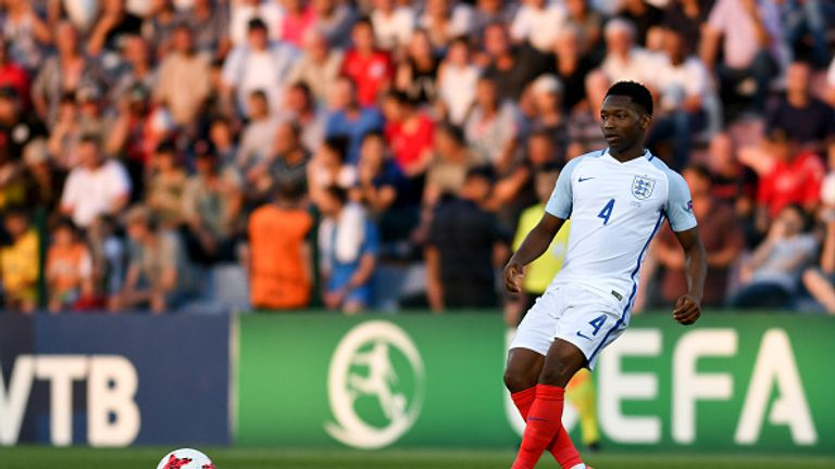 Tayo Edun contributed to England's victory in the final of the European Under-19 Championship last year