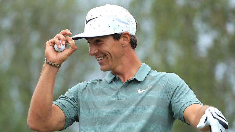 Thorbjorn Olesen during day four of the Nordea Masters at Hills Golf Club on August 19, 2018 in Gothenburg, Sweden.