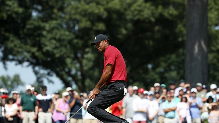 Woods blamed poor putting for making only nine birdies all week at The Northern Trust