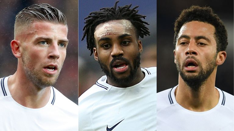 Toby Alderweireld, Danny Rose and Mousa Dembele are all out of contract next summer