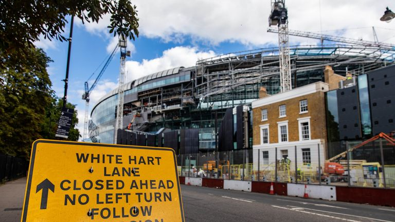Spurs say recent testing revealed 'critical safety system' issues with their new stadium