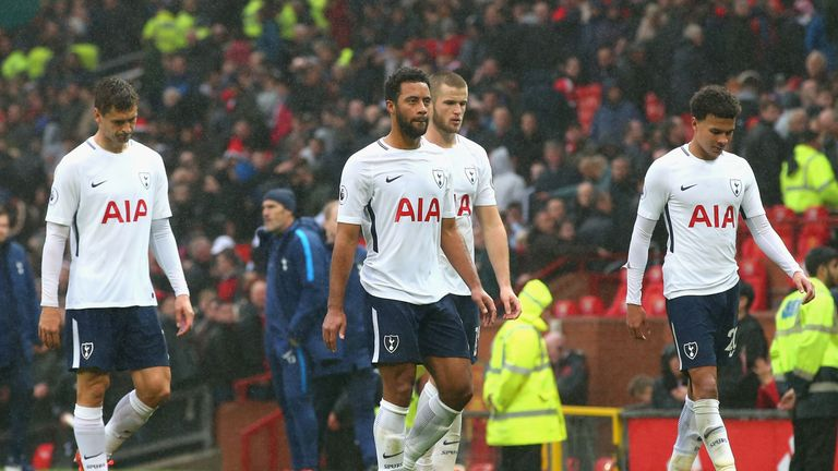 Tottenham have won just two of their 26 Premier League visits to Old Trafford