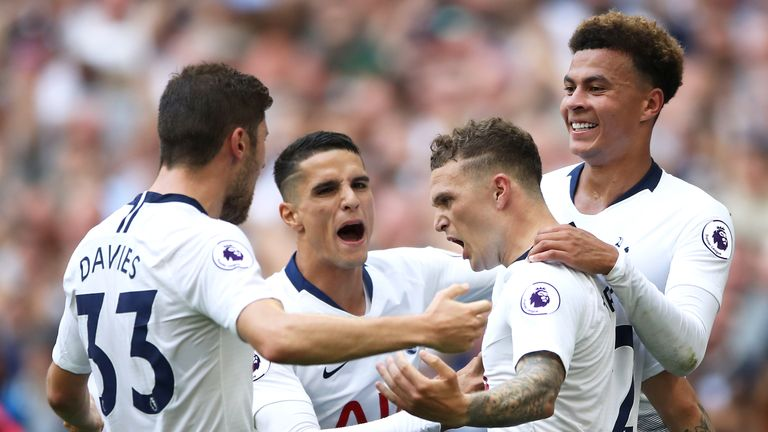 Trippier says Spurs have so much strength in depth that the lack of summer signings means nothing