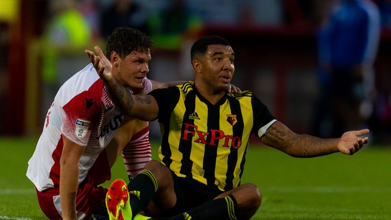 Troy Deeney is expected to lead Watford's forward line again this season