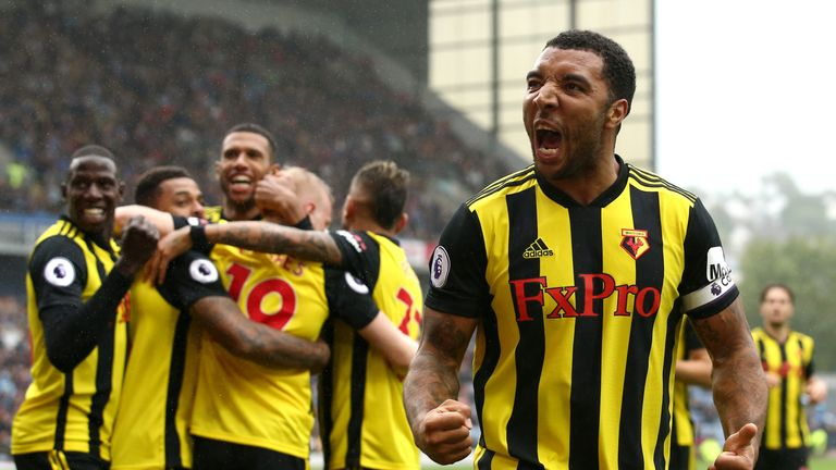 Troy Deeney is already off the mark for 2018/19