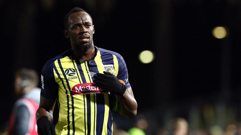 Usain Bolt has yet to be offered a contract by Central Coast Mariners