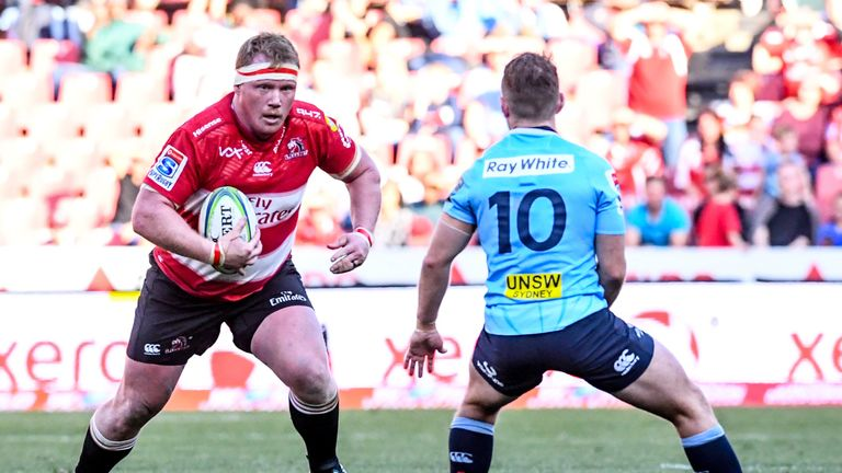 Van Rooyen has played over 60 times in Super Rugby for the Lions