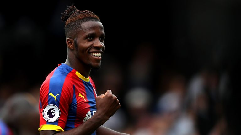 Wilfried Zaha has committed his future to Crystal Palace until the summer of 2023