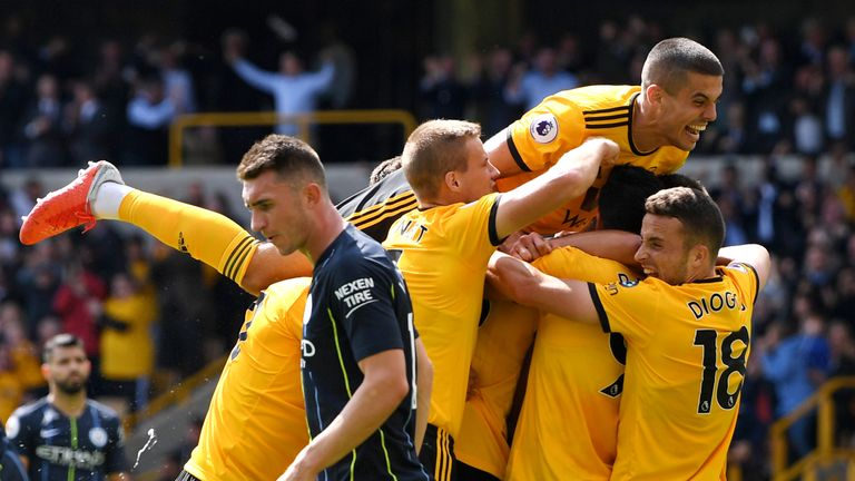 Wolves drew 1-1 with Manchester City last weekend