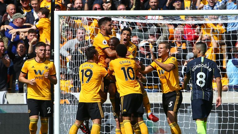 Wolves secured a hard-fought point against the champions