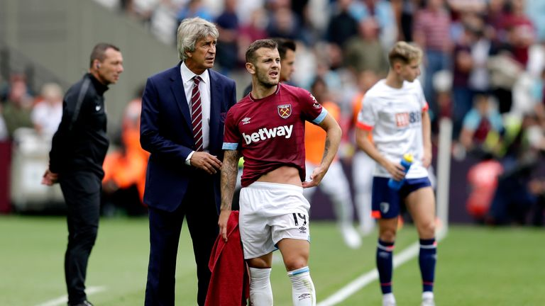 Wilshere has started just four Premier League games for West Ham