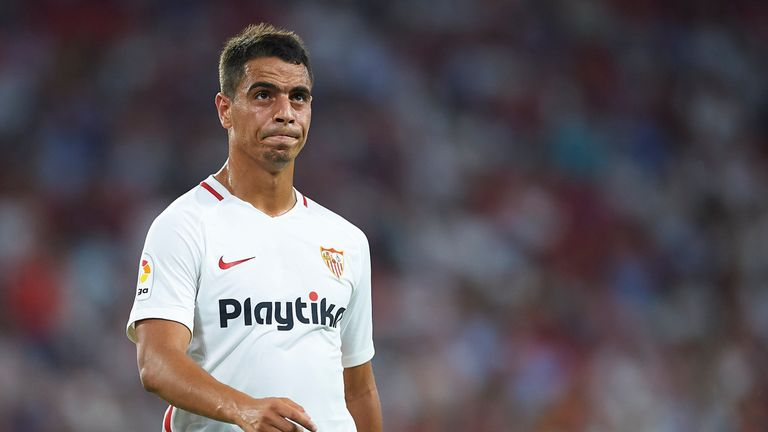 Wissam Ben Yedder levelled for Sevilla - but it was not enough to put them back top