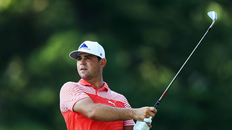 Gary Woodland is aiming for his first top-10 in a major