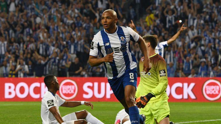 Yacine Brahimi played in the Champions League for Porto last season
