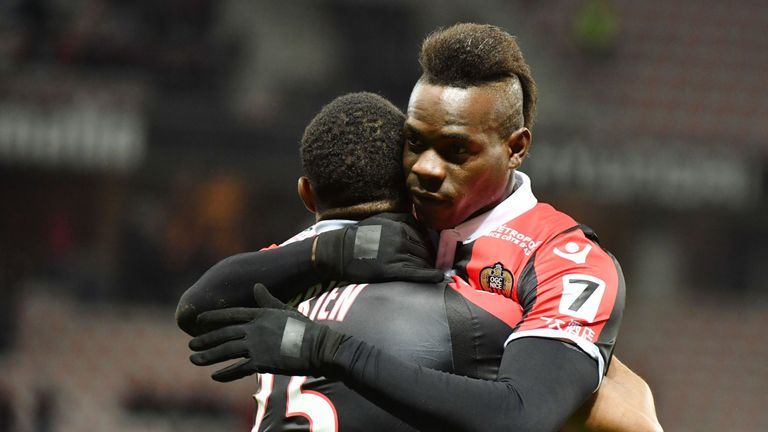 Balotelli has impressed since joining Nice in 2016