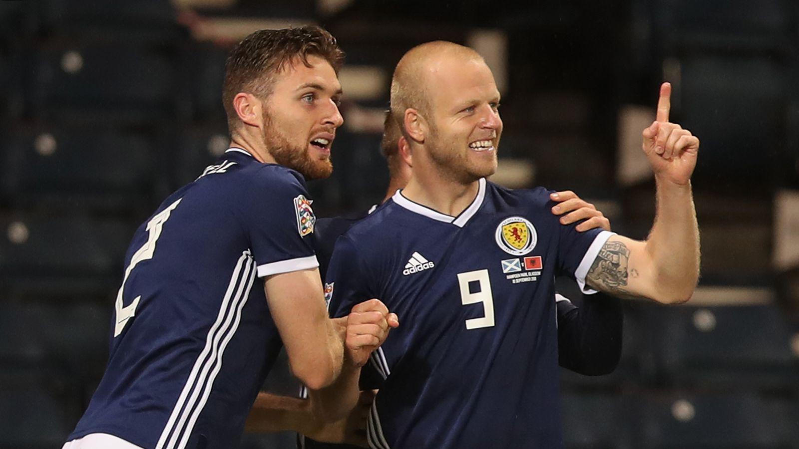 c63a3ef9b31 Scotland 2 - 0 Albania - Match Report   Highlights