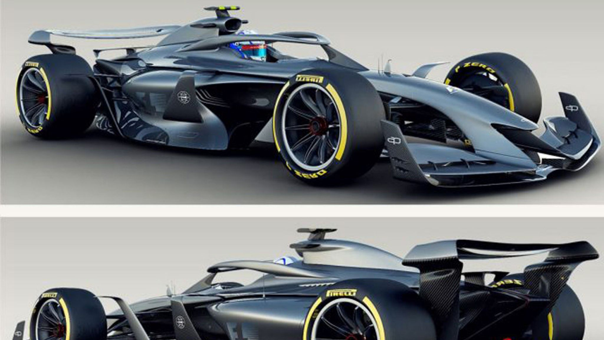 F1 reveals 2021 concept cars with aim to improve racing | F1