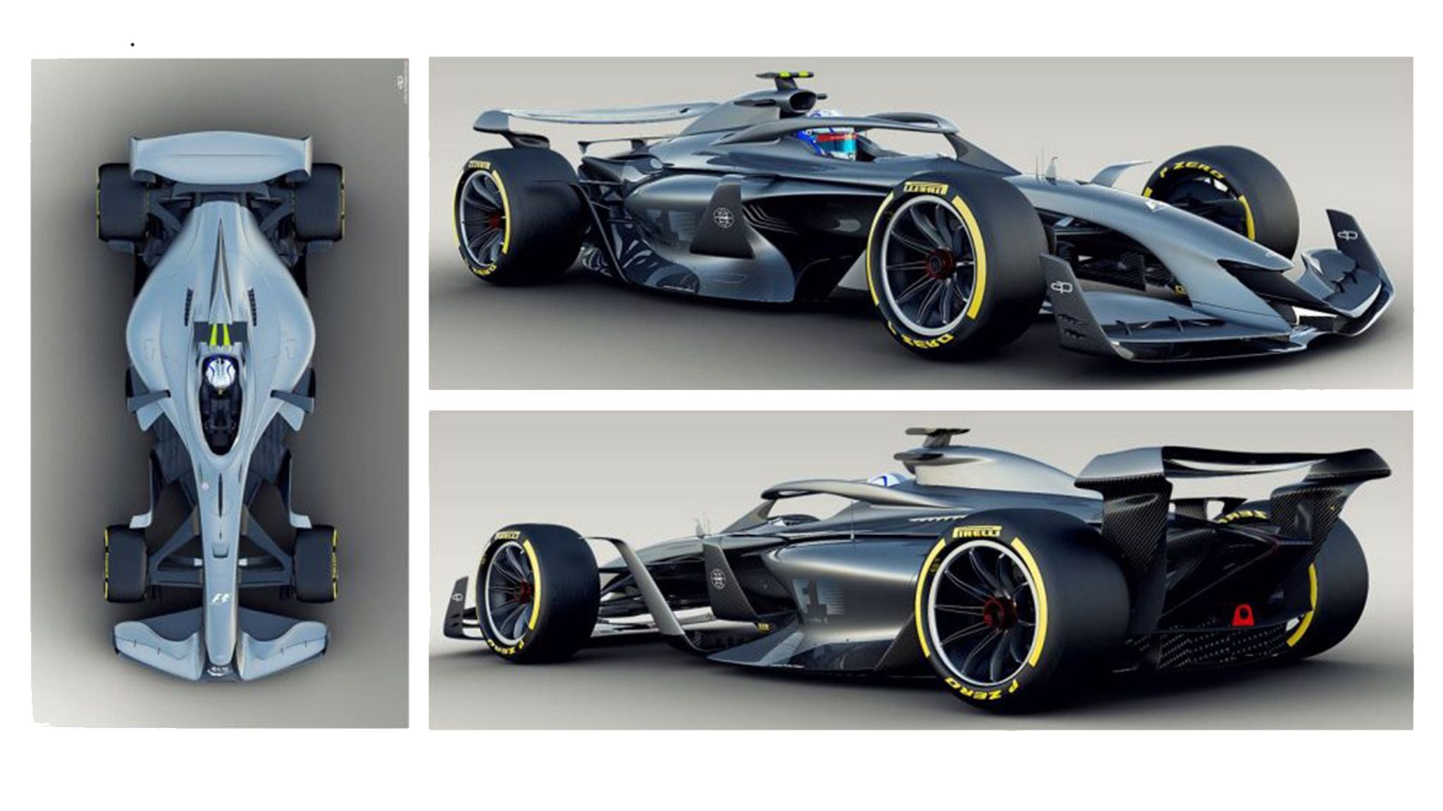 F1 Reveals 2021 Concept Cars With Aim To Improve Racing F1 News