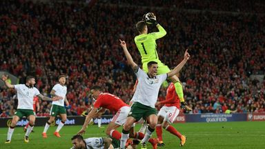 fifa live scores -                               Clark out of Wales showdown