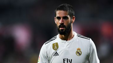 Isco began suffering pain on Tuesday morning and underwent surgery in the afternoon