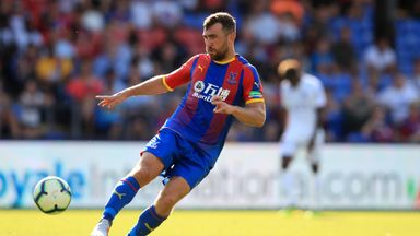 McArthur has played 136 games in four seasons at Crystal Palace