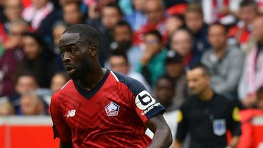 Jonathan Ikone scored a stunner for Lille as they beat Nantes on Saturday