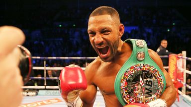Kell Brook discussed his next fight in a meeting with promoter Eddie Hearn on Thursday