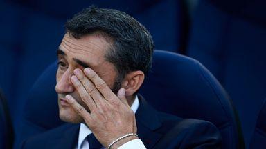 fifa live scores -                               Valverde unsure over Barca future